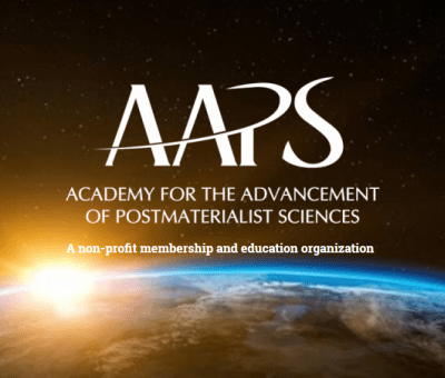 Academy of Advancement of Postmaterialistic Sciences logo